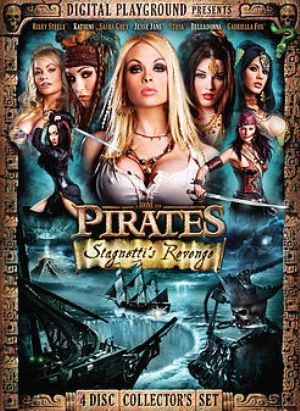 Pirates II: Stagnetti's Revenge DVD