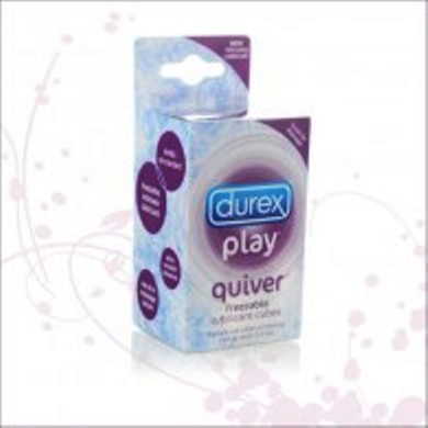 Quiver Freezable Lube Cubes Durex