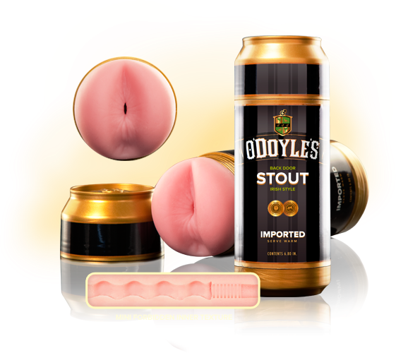 ODoyles Stout Sex in a Can Gold