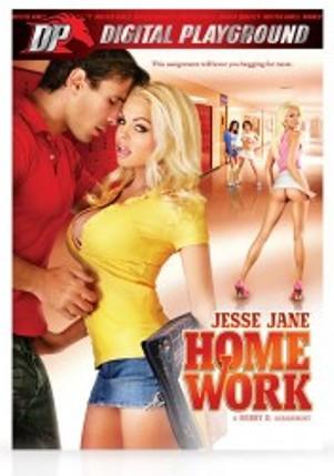 Jesse Jane Home Work DVD